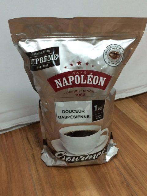 Café Napoléon : Douceur gaspésienne – 1 kg